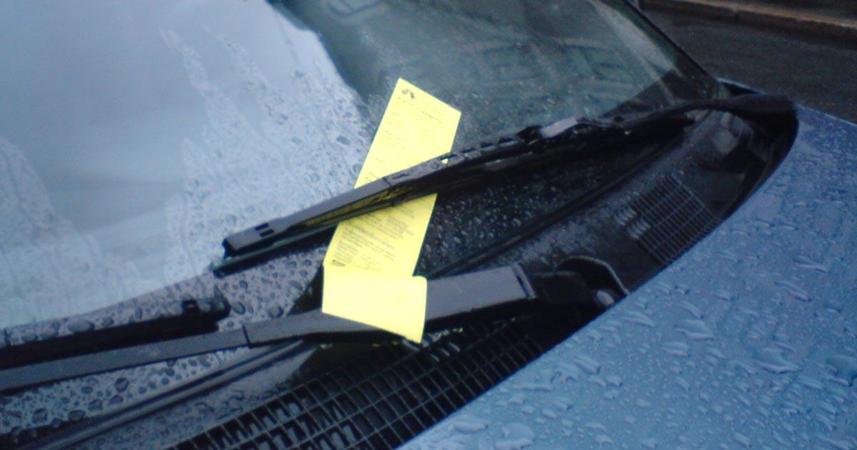 Polisen varnar för falska p-böter