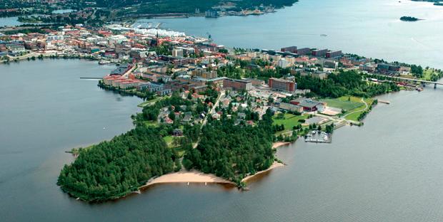 Gratis ställplatser i Luleå