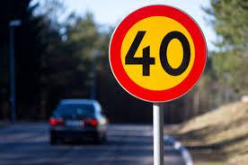 Flest kör för fort på 40-väg