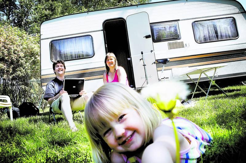 Camping med barn