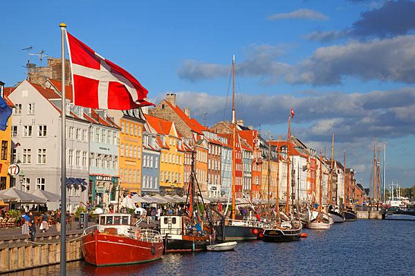 Campa mitt i Köpenhamn